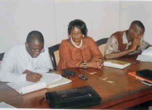 Membres de la FédA-CI au travail