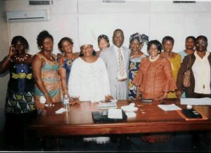 Le Conseil d'Administration de la Fédération des Artisans de Côte d'Ivoire